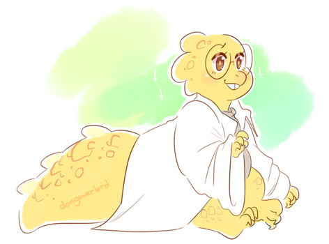 alphys by dongoverlord