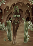 Cristal Cave Lady by Nagaia