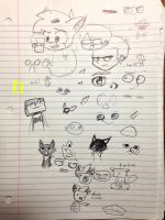 Today's doodles: 10/11/12 by Saber-Cow