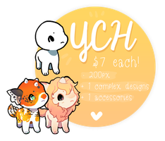 Itsy Bitsies | CLOSED TEMPORARILY | YCH/YPDH by Hevirago