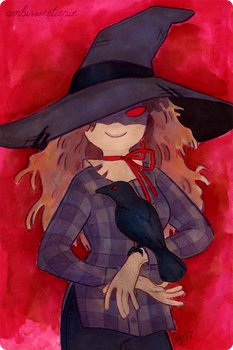 Scarecrow Witch by ambisweetiepie