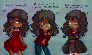 Some more Harriet Potters by Jrynkows