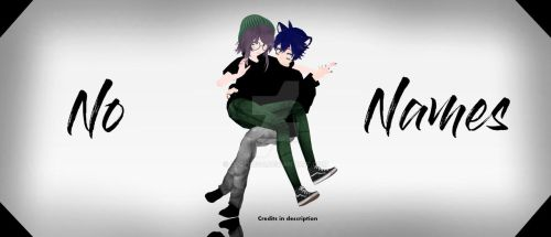 [MMD|NEW MODELS] No Names by o0Glub0o