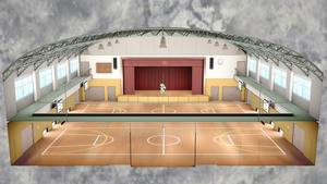 [DL] MMD School Auditorium Stage by Maddoktor2