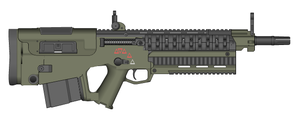 GRA's DRM-3 Battle Rifle by Storm-X