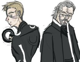Tron:Legacy- The Users by BlackInkHeart