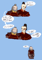 Doing what Zuko does best... by Rotae