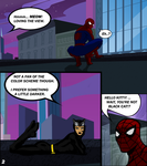 Batman-Spiderman - A Tale of Two Kitties Page 2 by Darth-Pravius