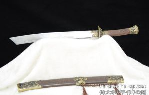 Chinese Dragon and Tiger Dao Sword 3 by swordsofnorthshire