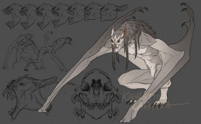 Vampire form by Forgess