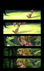 The run (page1) by amjie