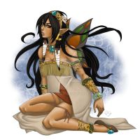 Native Inspired :Colored: by KimiCookie