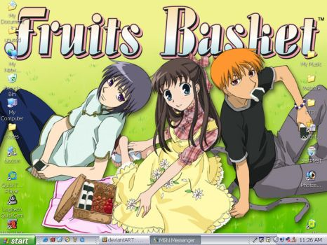 Fruits Basket by Mika-Chan-Ness