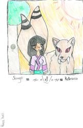 songo and kirara by darkwind16