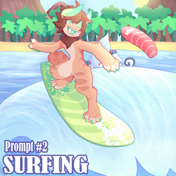 SSF- Prompt #2 (Surfing) by HoshPosh