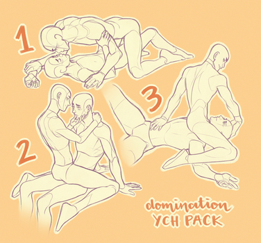 YCH domination pack CLOSED by GoldenTar