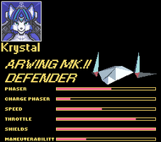 Krystal Character select by Tango458