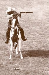 Authentic photo of Buffalo Bill Cody Re-enactor 6/ by Crigger