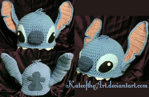Stitch Hat by KateoftheArt