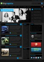 Blog Magazine Theme by dellustrations