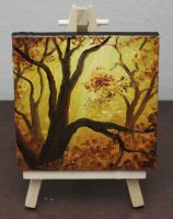 Mini Golden Forest by crazycolleeny