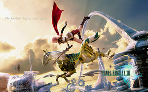 Final Fantasy XIII Wallpaper A by CrossDominatriX5