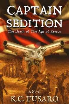 Historical ebook cover: Captain Sedition by Dafeenah