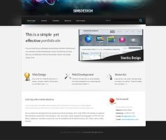 Sinsdesign template by sinziana