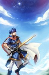 Fire Emblem and Brawl - Ike by na-insoo