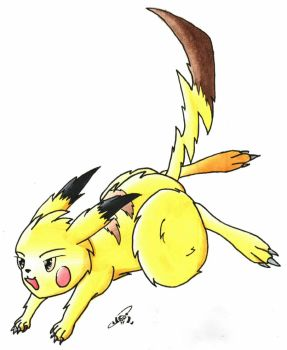 #25 Pikachu by Socren