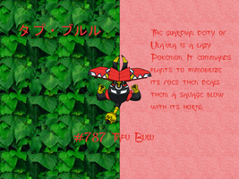 Tapu Bulu Wallpaper