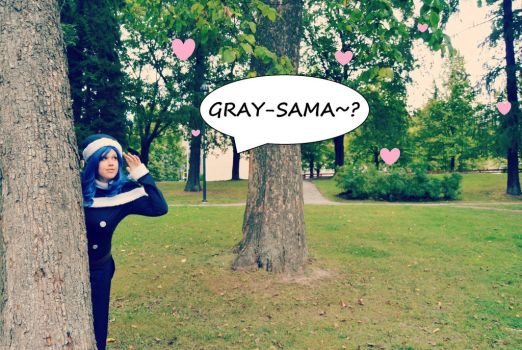 Looking for Gray-sama / Juvia - Fairy Tail by destinette