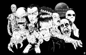 Classic Universal Monsters by BREED72