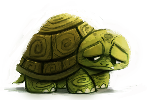 Day 689. Quick Daily. I think my Tablet is dying.. by Cryptid-Creations