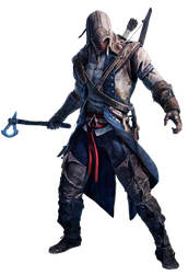 Assassins Creed III - Connor Render by Crussong