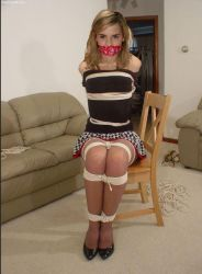 Emma Watson tied up and gagged by jackaldrin07