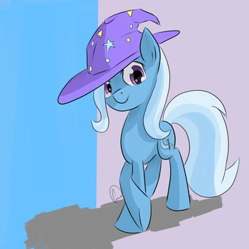 The Great and Cheerful Trixie by chaosmalefic