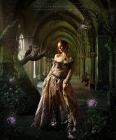 Princess of an abandoned castle by 4istoe3oloto