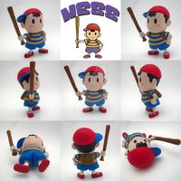 Super Smash Bros Ness Sculpture by Daimyo-KoiKoi