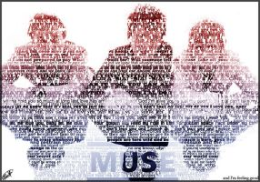 Muse Text Portrait by godnessimaginary