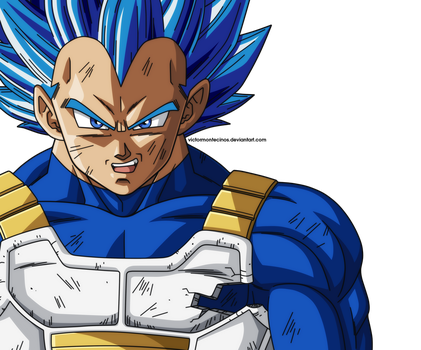 Dragon Ball Super - Vegeta Unleashed Power by VictorMontecinos