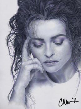 Helena Drawing by Live4ArtInLA