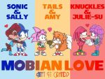 My Sonic Romance Wallpaper by nintendomaximus