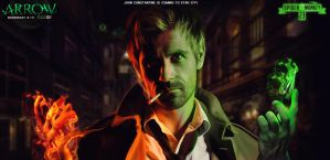 John Constantine is coming to Star city. by spidermonkey23