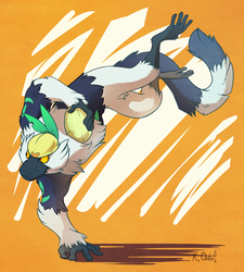 Favorite Fighting Type: Passimian by TheArtsyAxolotl