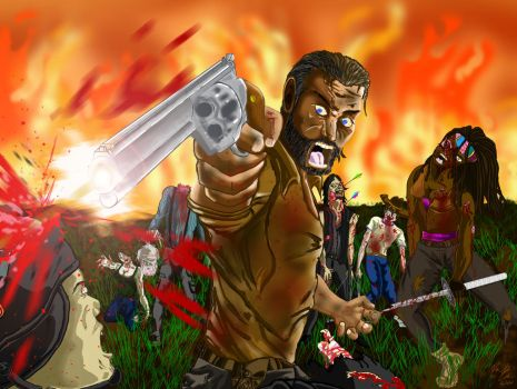 The Walking Dead by Conceptsart608