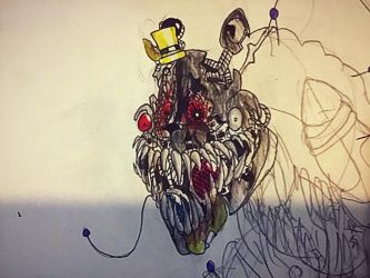 Scrap Nightmare (Head Study) by Parallelopussy18