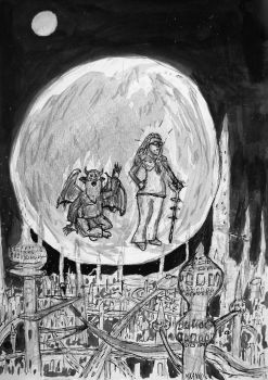 2nd illustration for my novel: Bubble by MauricioKanno