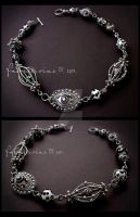 BW necklace by Faeriedivine