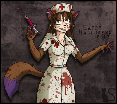 Happy Halloween 2012 by ShukiAi